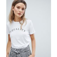In Wear Terne Equality Print T-Shirt - Equality/ pure wht