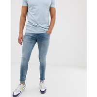 G-star 3301 Deconstructed Skinny Jeans In Medium Aged