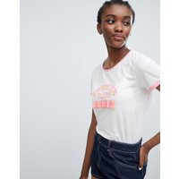 Sugar Dust Summer Vibes Tassle T Shirt - White