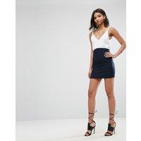 ASOSASOS Corset Mini Skirt - Navy