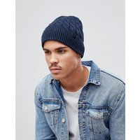 Selected Homme Beanie In Navy - Dark sapphire