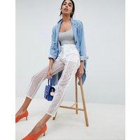 Pantalones semitransparentes de ASOS DESIGN