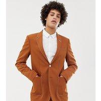Noak skinny blazer in camel - Camel