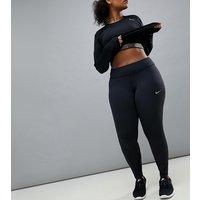 Leggings negros para correr Power Epic Luxe de Nike Plus