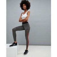 Leggings en gris y rojo Hypercool de Nike Training