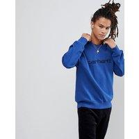 Carhartt WIP Sweatshirt In Blue - Blue