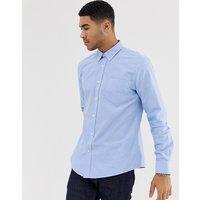 Ben Sherman long sleeve slim fit oxford shirt - Blue