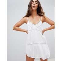 Amuse Society Summer Light Beach Dress - White