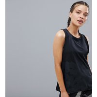 Adidas Training Low Back Vest In Black - Black