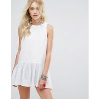 Free PeopleFree People Breathless Moments Tunic Dress - White