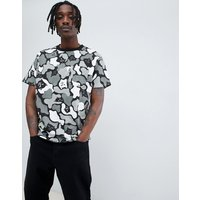 RIPNDIP camo t-shirt in black - Black