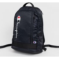 Champion zip up backpack in black - Black