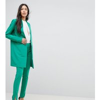 Y.A.S Tall Cigarette Pant With Hem Detail - Green
