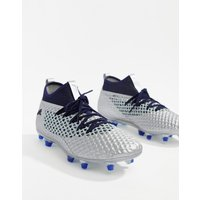 Puma Football Future 2.2 Netfit Firm Ground Boots In Silver - Silver