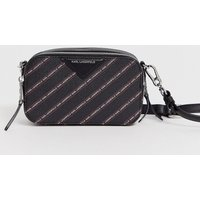 Karl Lagerfeld Stripe Logo Camera Bag