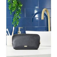 Kikki K black leather pouch - Multi