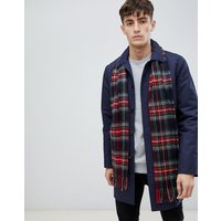 Barbour New Check Scarf In Red - Red