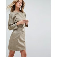 ASOSASOS Casual Mini Dress - Khaki