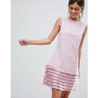 Ted Baker Satin Loop Shift Dress - Pl pink
