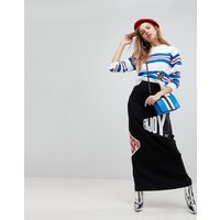 Love Moschino Enjoy the Ride Maxi Skirt - C74