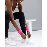 Adidas Wristband In Hot Pink - Shock Pink