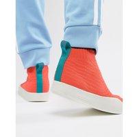 adidas Originals Adilette Primeknit Sock Summer Trainers In Orange CM8227 - Orange