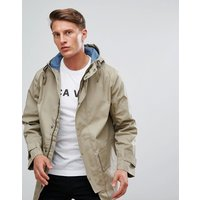 French Connection Parka - Timber / Cadet Blue