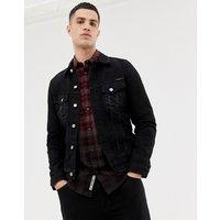 Nudie Jeans Co Billy denim jacket washed black - Black