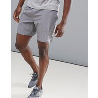 Nike Running Flex Distance Flash Reflective 7 Inch Shorts In Grey 899498-036 - Grey