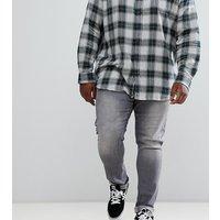 Jacamo Plus skinny jeans in washed grey - Grey