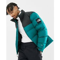 The North Face 1992 Nuptse Jacket In Everglade Green - Green