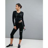 Leggings capri negros Pro Training de Nike