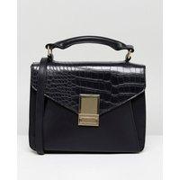 Bolso satchel con bolsillo dividido de ASOS DESIGN