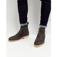 Grenson Nolan Suede Chelsea Boots - Brown