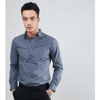 Heart & Dagger skinny smart shirt - Grey