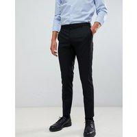 Burton Menswear skinny fit smart trousers in black - Black