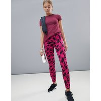Adidas Training All Over Printed Leggings - Real Magenta F18
