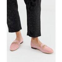 Aldo Leather Trim Loafers