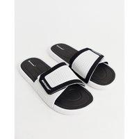 Dunlop sliders in white - White