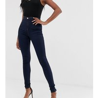 Missguided Tall vice high waisted super stretch skinny jean in blue - Indigo