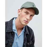 French Connection Crown Baseball Cap In Khaki - Green