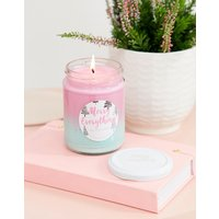 Flamingo Candle merry everything soy wax ombre candle - Multi