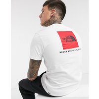 The North Face - The North Face - Red Box - T-shirt - Blanc - Blanc