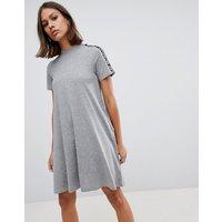 Cheap Monday Mystic tape sleeve dress - Grey melange