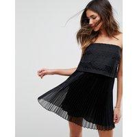 IslaIsla Edie Strapless Mini Dress - Black