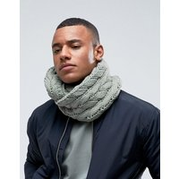 7X Cable Snood - Green