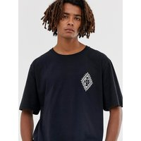 Brooklyn Supply Co extreme oversized t-shirt with motif in black - Black