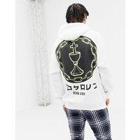 HNR LDN back print hoodie - Black