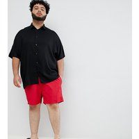 French Connection Plus Swim Shorts - Red/marine