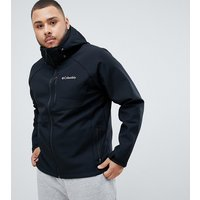 Columbia Big & Tall Cascade Ridge II Softshell Jacket in Black - Black